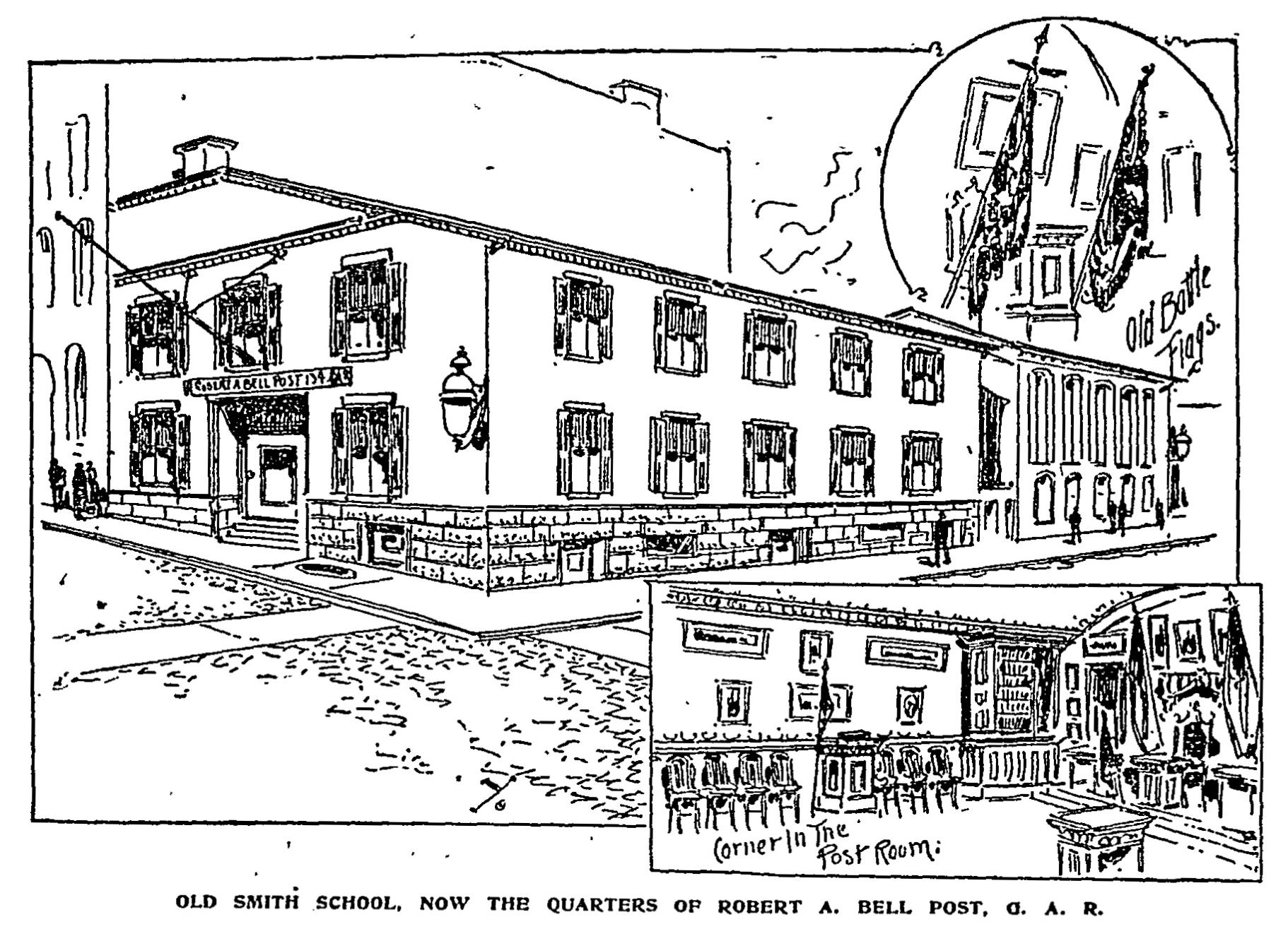 Robert A. Bell Post, 134, G.A.R. Headquarters